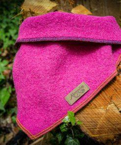 Hundehalstuch - Bandana pink